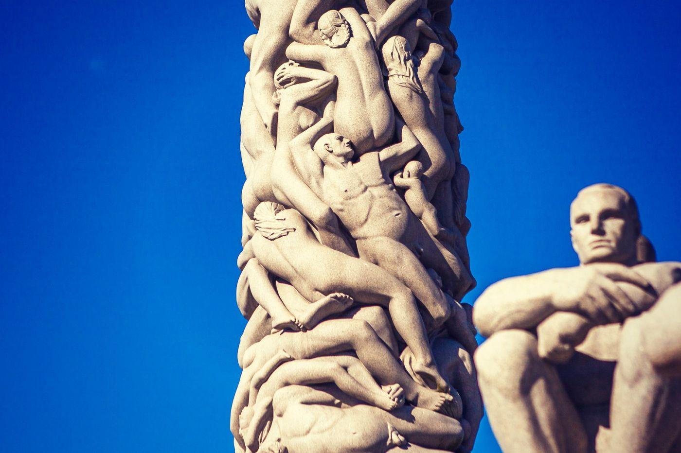 挪威维格兰雕塑公园,风格明显_图1-8