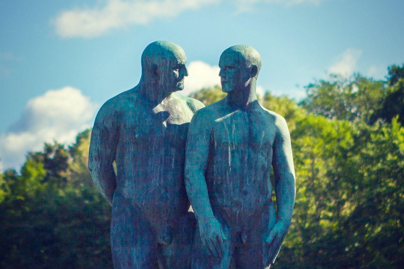 挪威维格兰雕塑公园,风格明显_图1-12