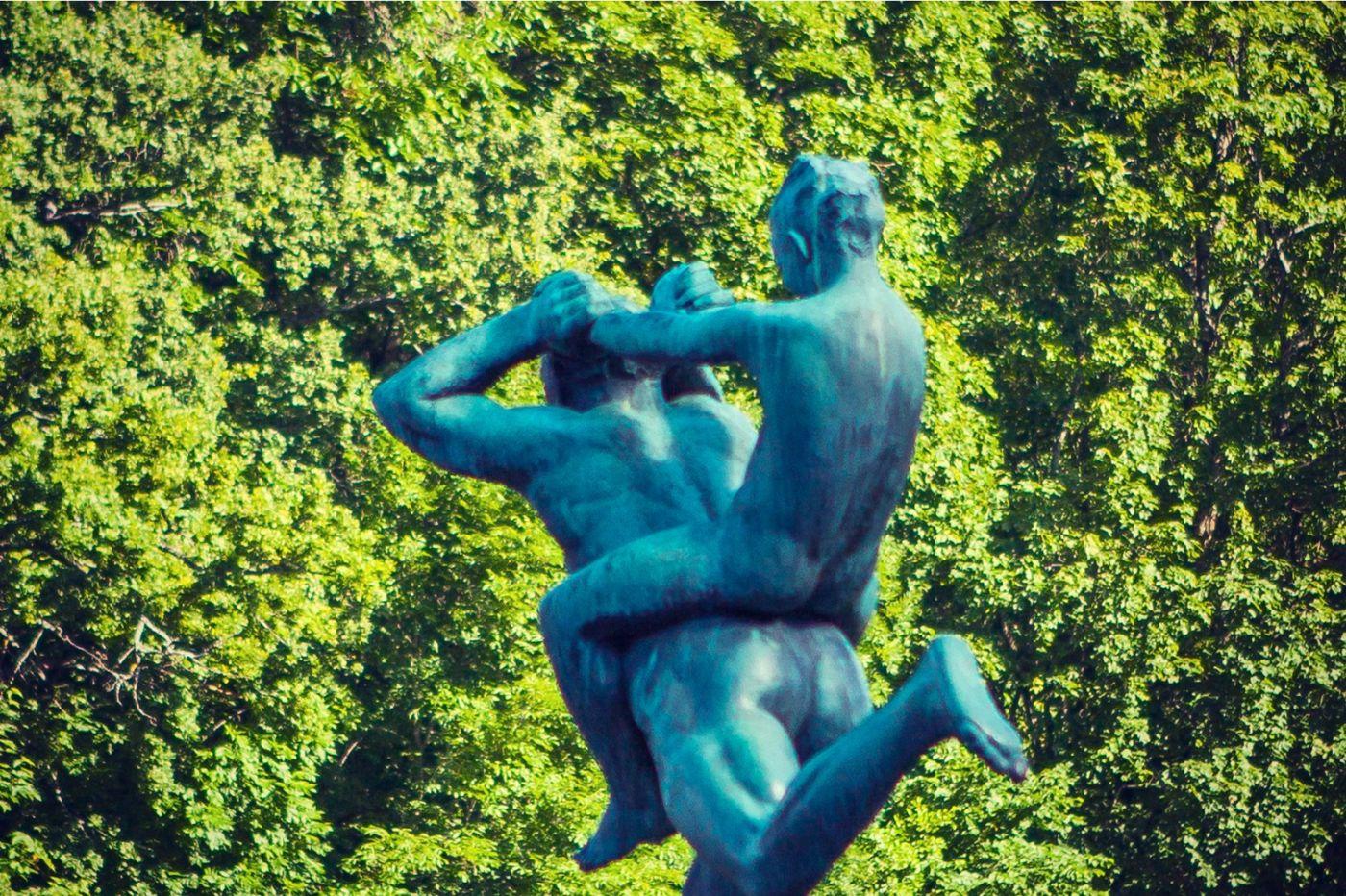 挪威维格兰雕塑公园,风格明显_图1-15