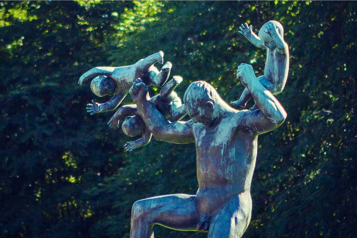 挪威维格兰雕塑公园,风格明显_图1-18