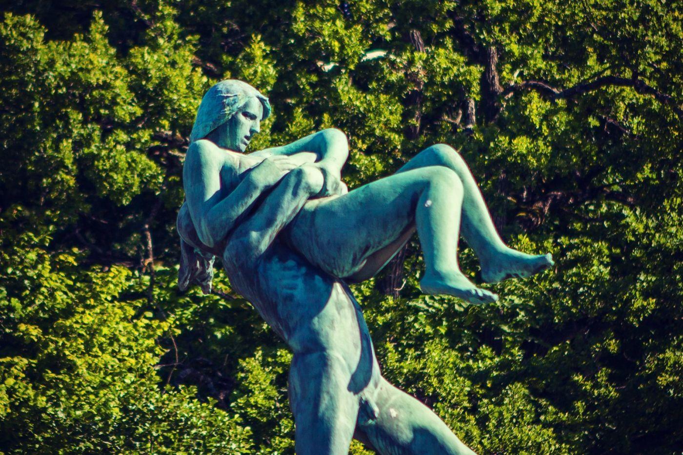 挪威维格兰雕塑公园,风格明显_图1-17