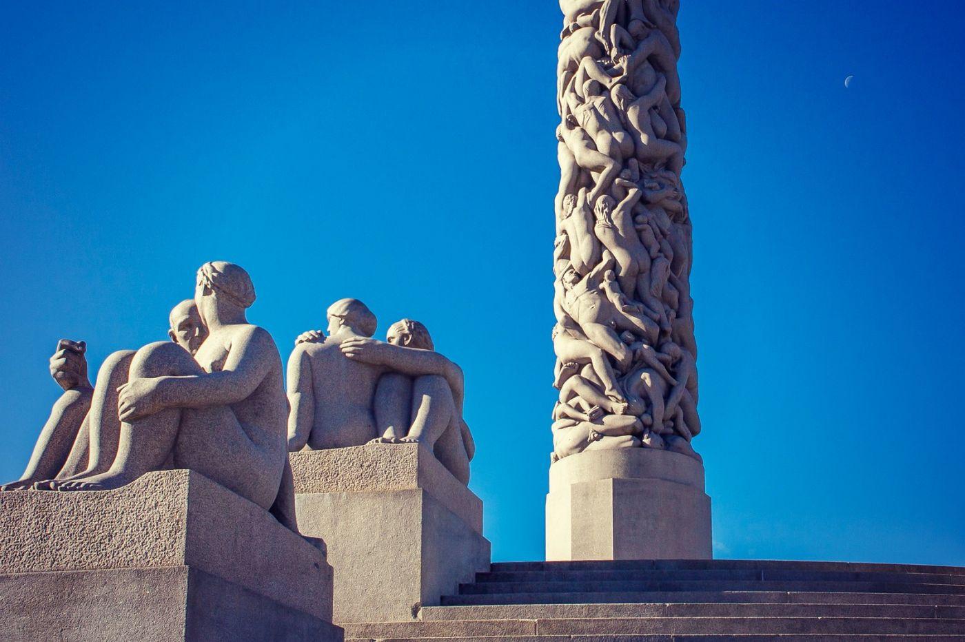 挪威维格兰雕塑公园,风格明显_图1-19