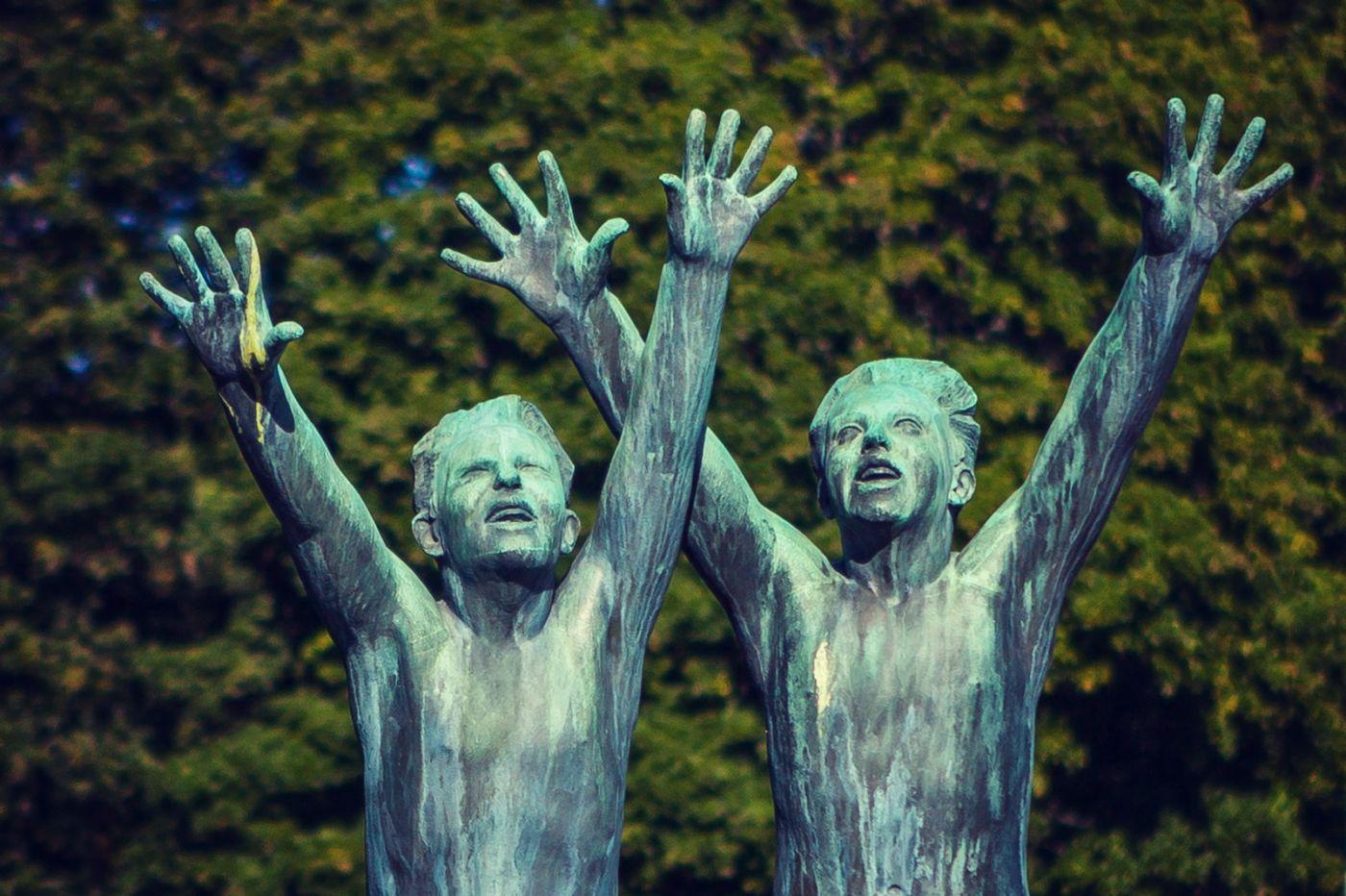 挪威维格兰雕塑公园,风格明显_图1-21