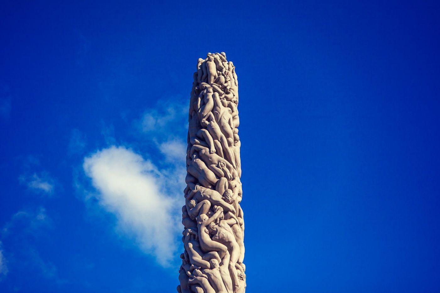 挪威维格兰雕塑公园,风格明显_图1-24