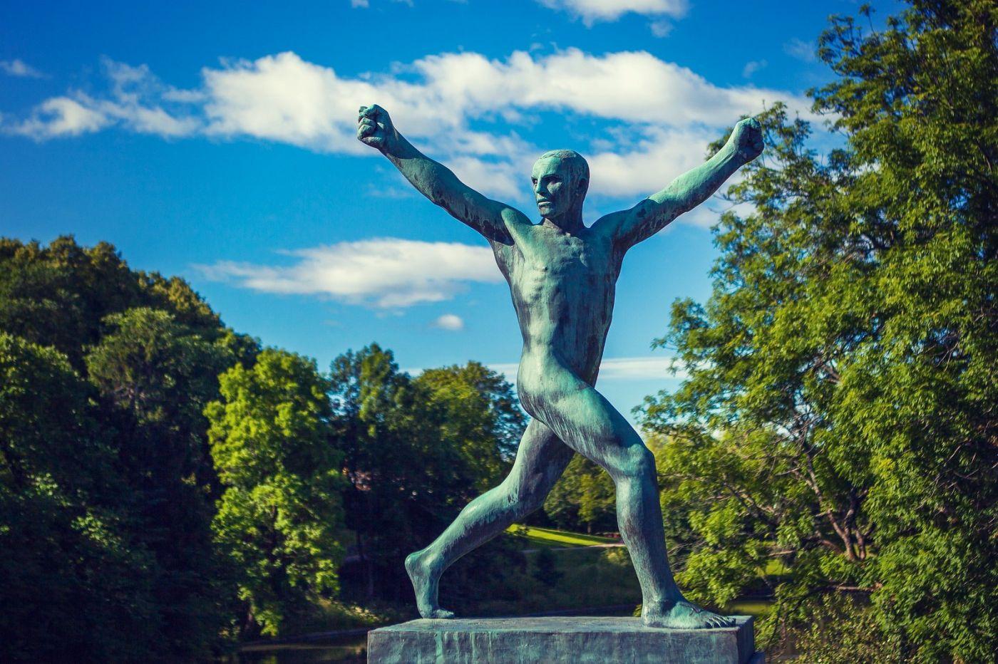 挪威维格兰雕塑公园,风格明显_图1-23
