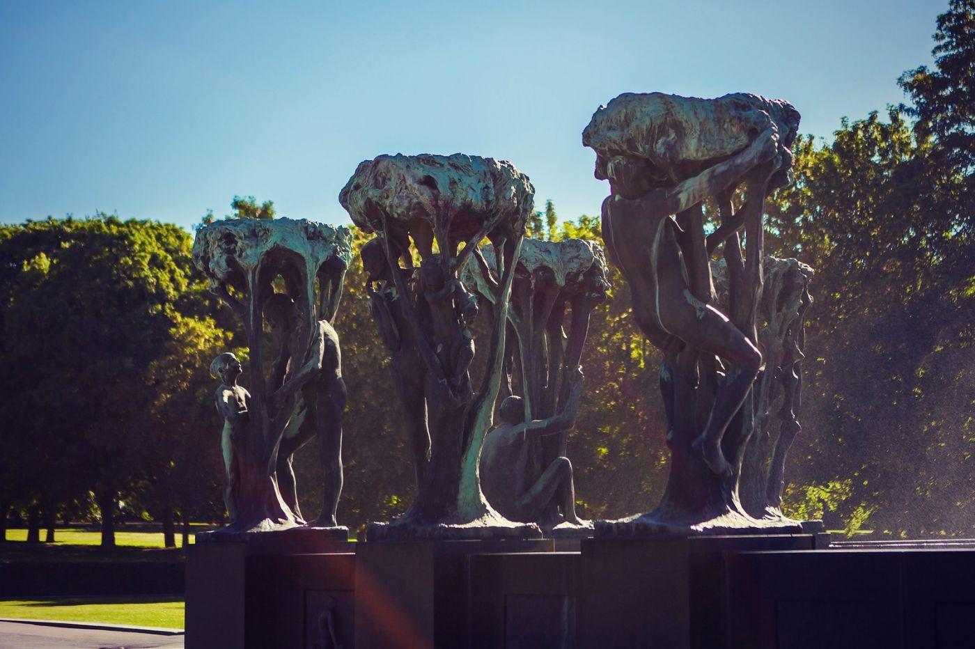 挪威维格兰雕塑公园,风格明显_图1-22