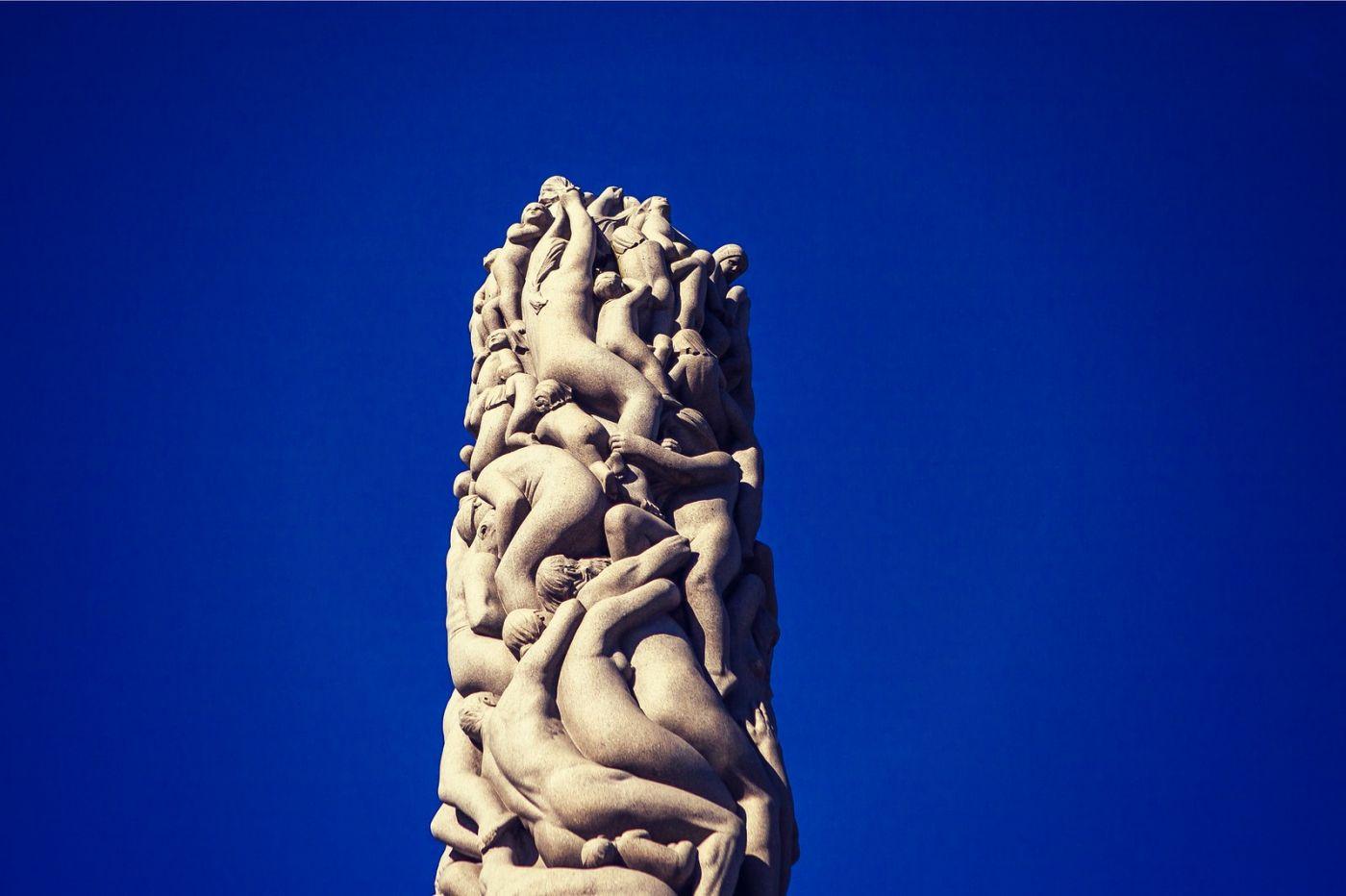挪威维格兰雕塑公园,风格明显_图1-27