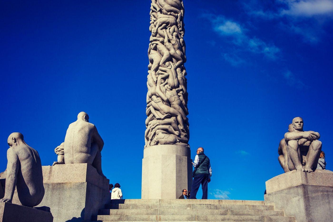 挪威维格兰雕塑公园,风格明显_图1-32