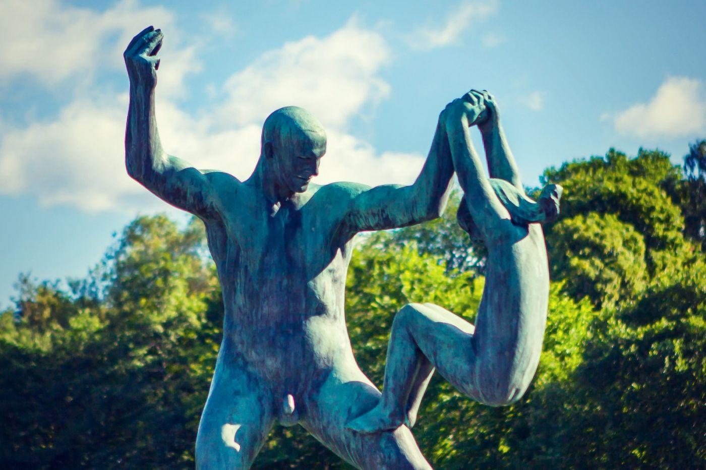 挪威维格兰雕塑公园,风格明显_图1-31