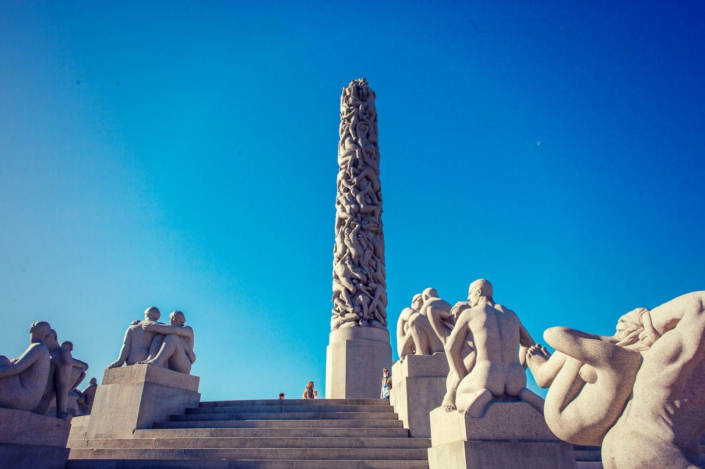 挪威维格兰雕塑公园,风格明显_图1-30