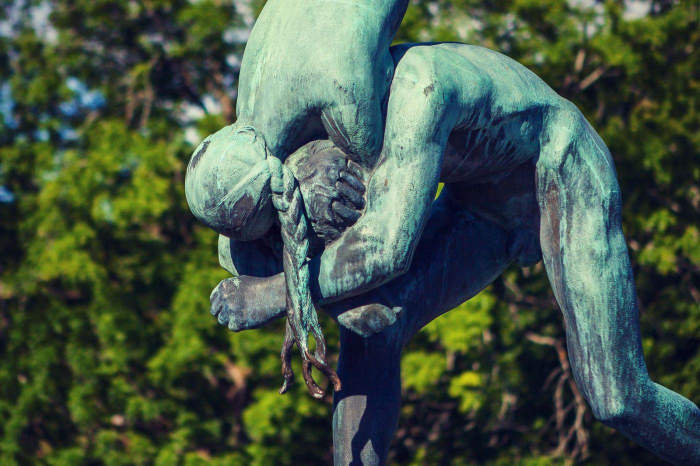 挪威维格兰雕塑公园,风格明显_图1-33