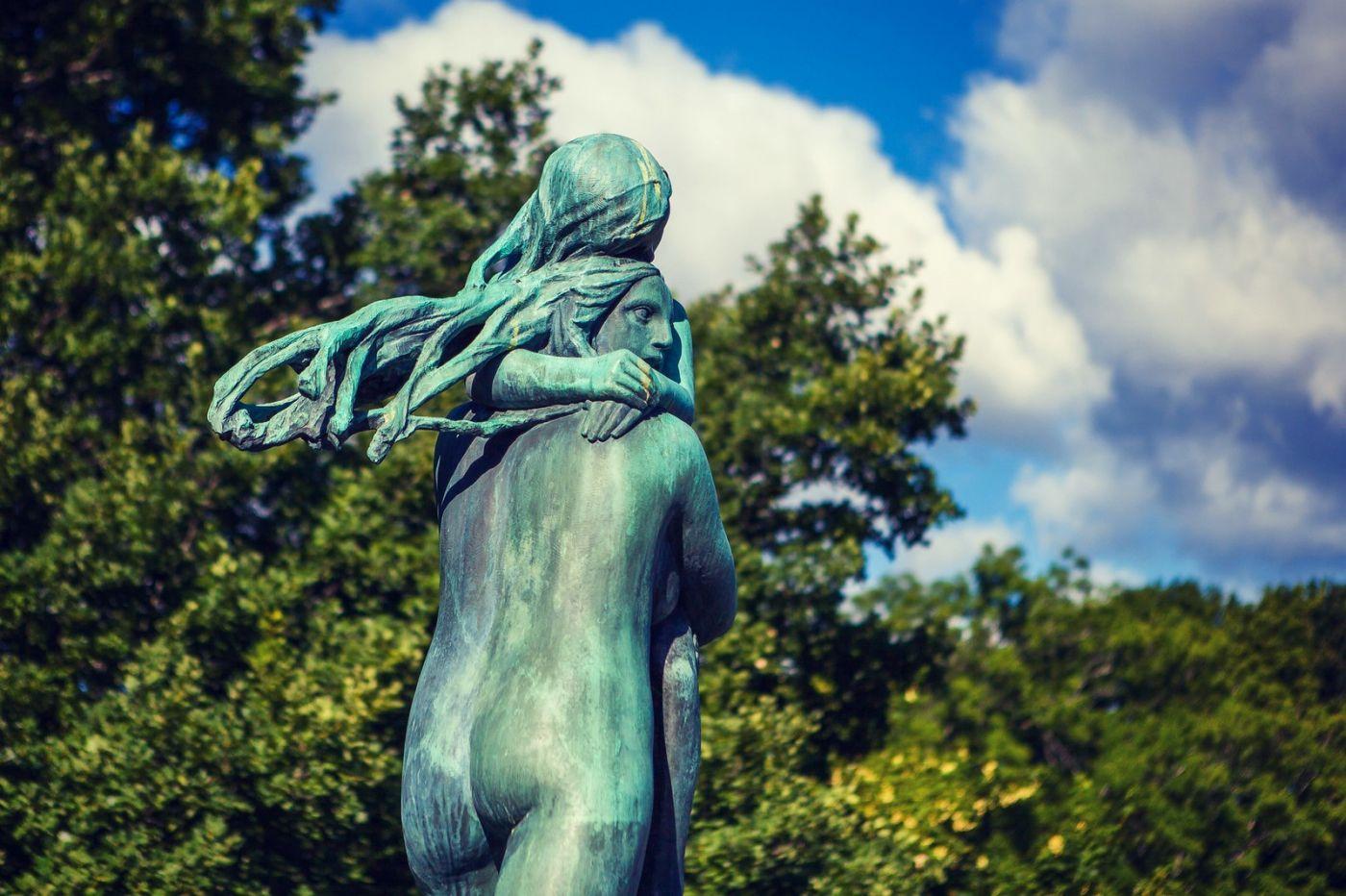 挪威维格兰雕塑公园,风格明显_图1-39