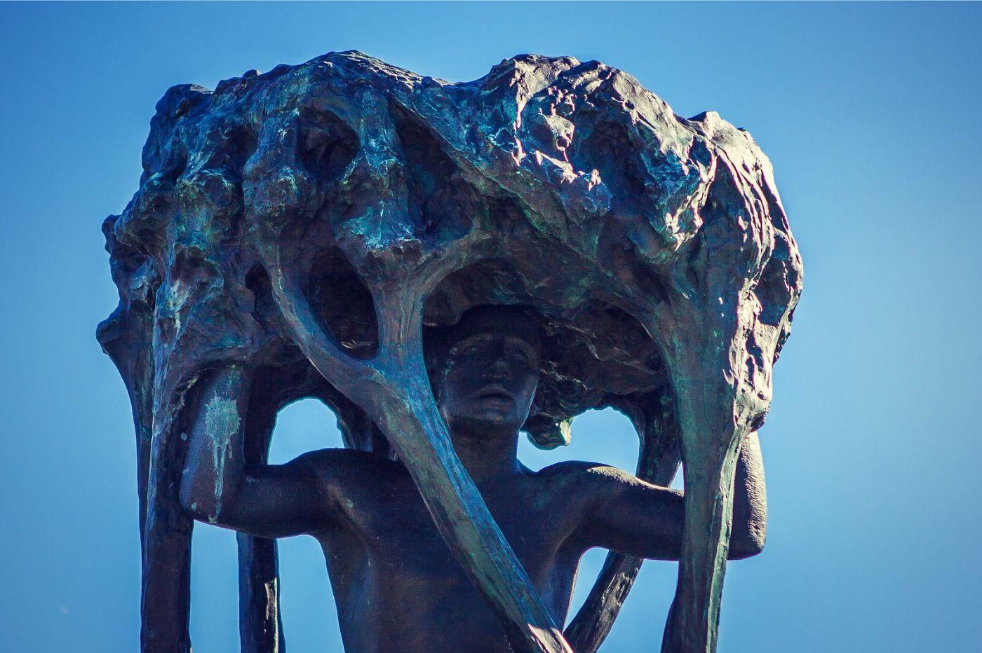 挪威维格兰雕塑公园,风格明显_图1-40