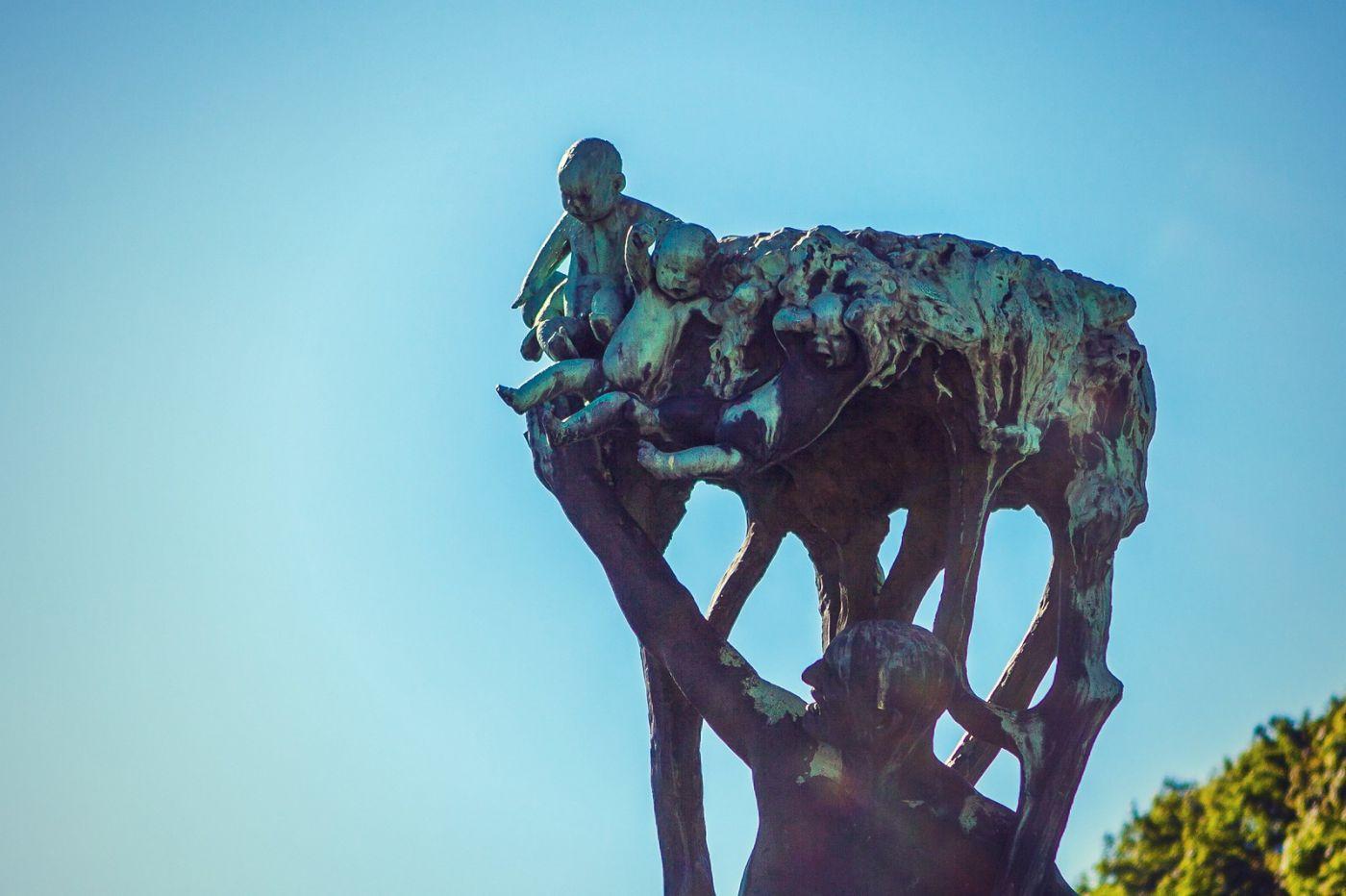 挪威维格兰雕塑公园,风格明显_图1-38