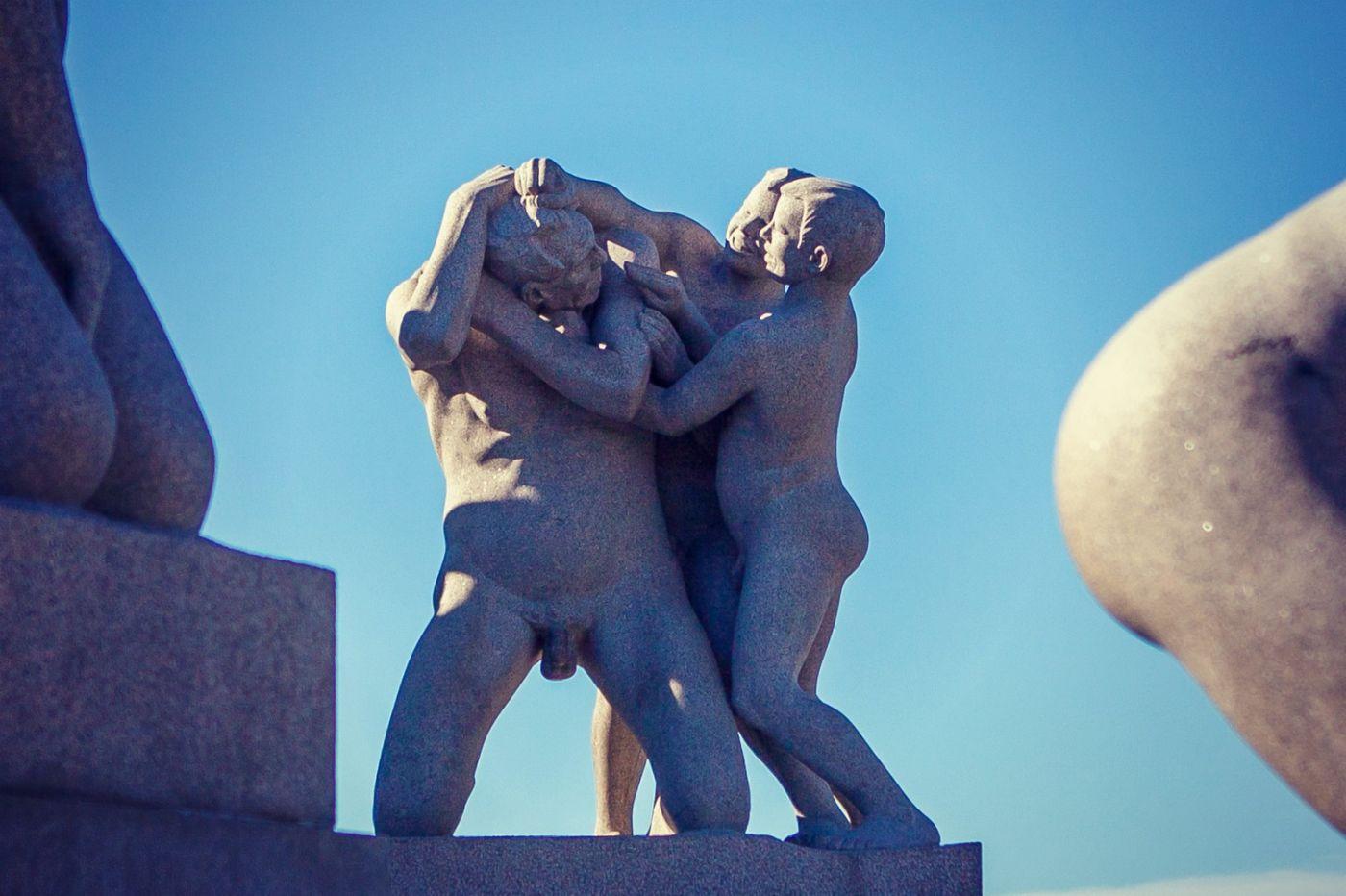 挪威维格兰雕塑公园,风格明显_图1-37