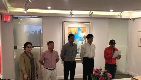 """高娓娓:""""曼哈顿之夏""""海外华人美术家协会纽约展_图1-3"""
