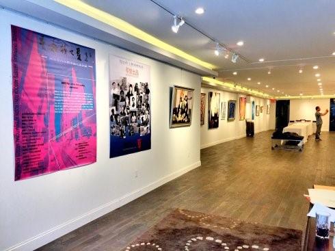 """高娓娓:""""曼哈顿之夏""""海外华人美术家协会纽约展_图1-5"""