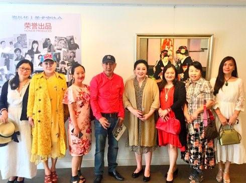 """高娓娓:""""曼哈顿之夏""""海外华人美术家协会纽约展_图1-7"""