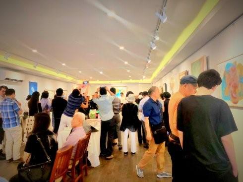 """高娓娓:""""曼哈顿之夏""""海外华人美术家协会纽约展_图1-8"""