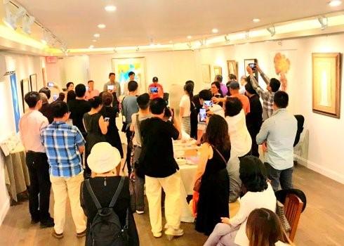 """高娓娓:""""曼哈顿之夏""""海外华人美术家协会纽约展_图1-9"""