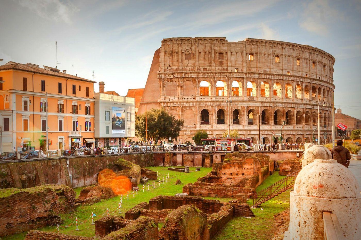 罗马斗兽场(Colosseum), 两千年的宏大建筑古迹_图1-13