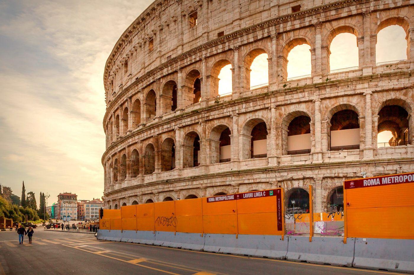 罗马斗兽场(Colosseum), 两千年的宏大建筑古迹_图1-14