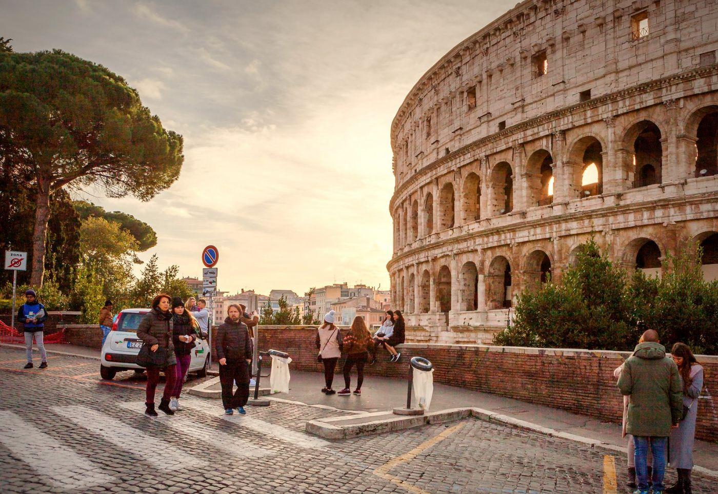 罗马斗兽场(Colosseum), 两千年的宏大建筑古迹_图1-12