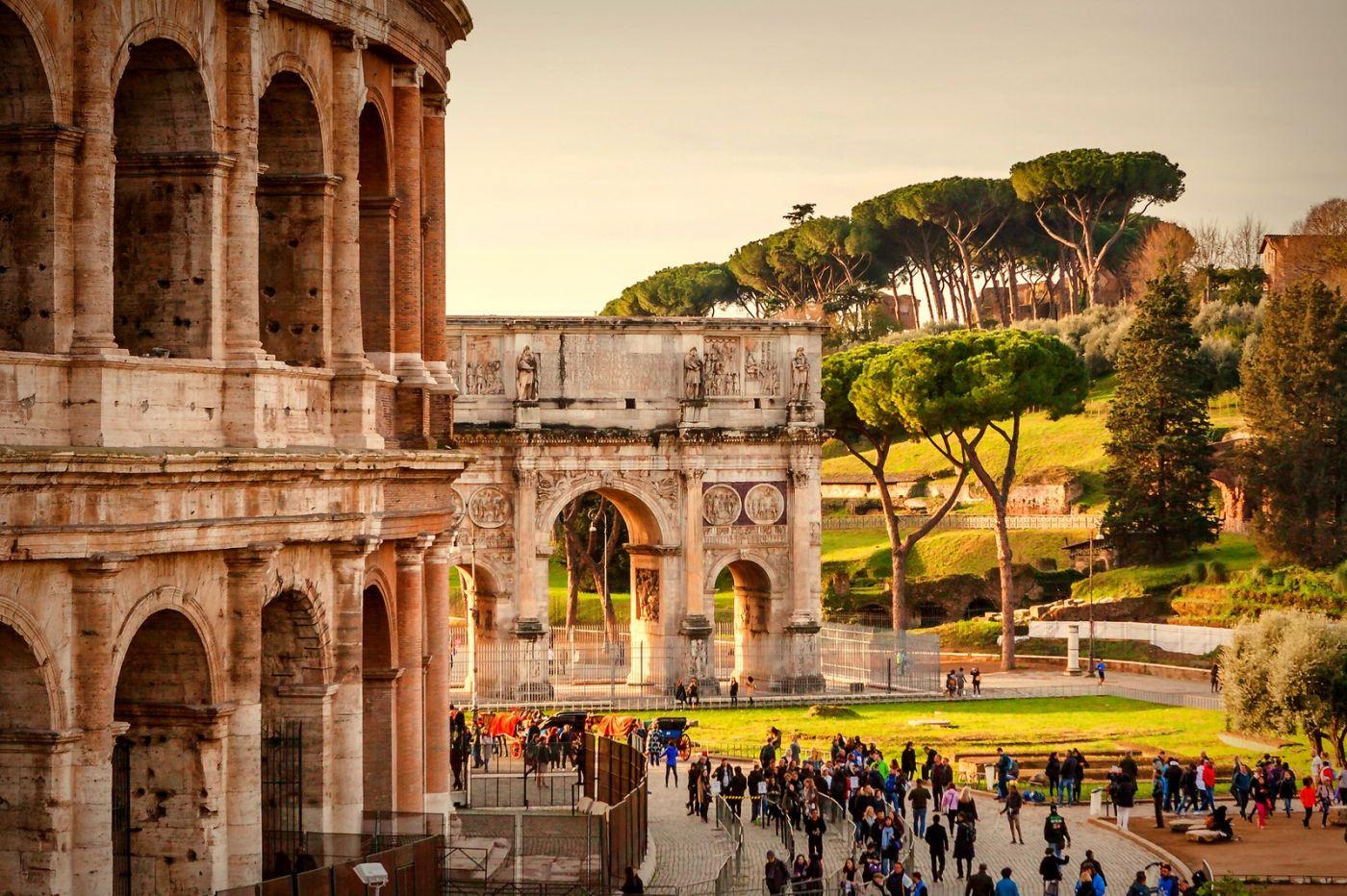 罗马斗兽场(Colosseum), 两千年的宏大建筑古迹_图1-9