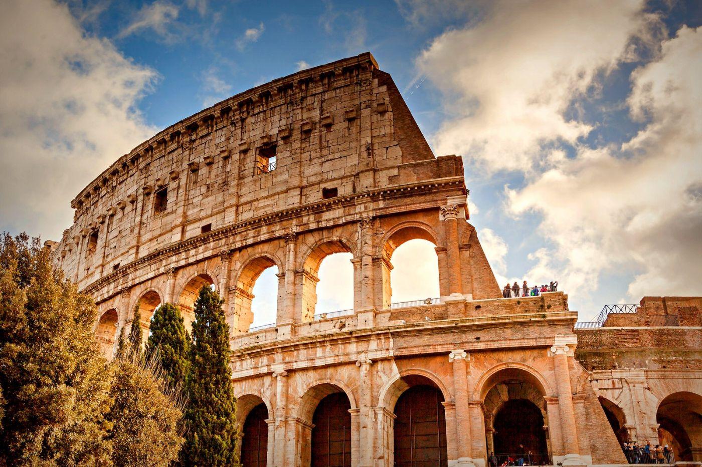 罗马斗兽场(Colosseum), 两千年的宏大建筑古迹_图1-1