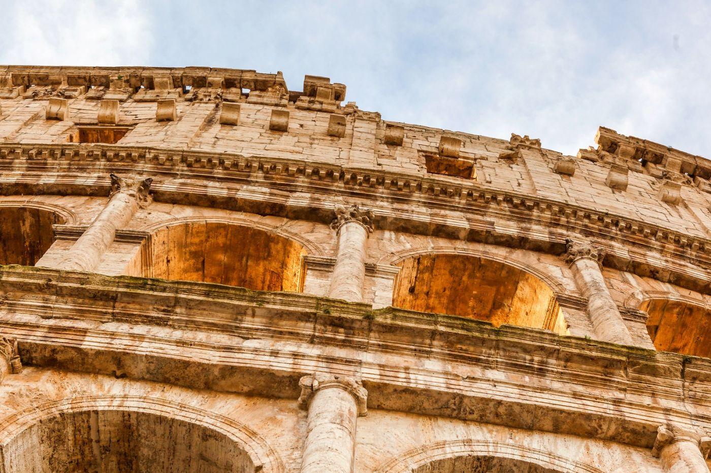 罗马斗兽场(Colosseum), 两千年的宏大建筑古迹_图1-17