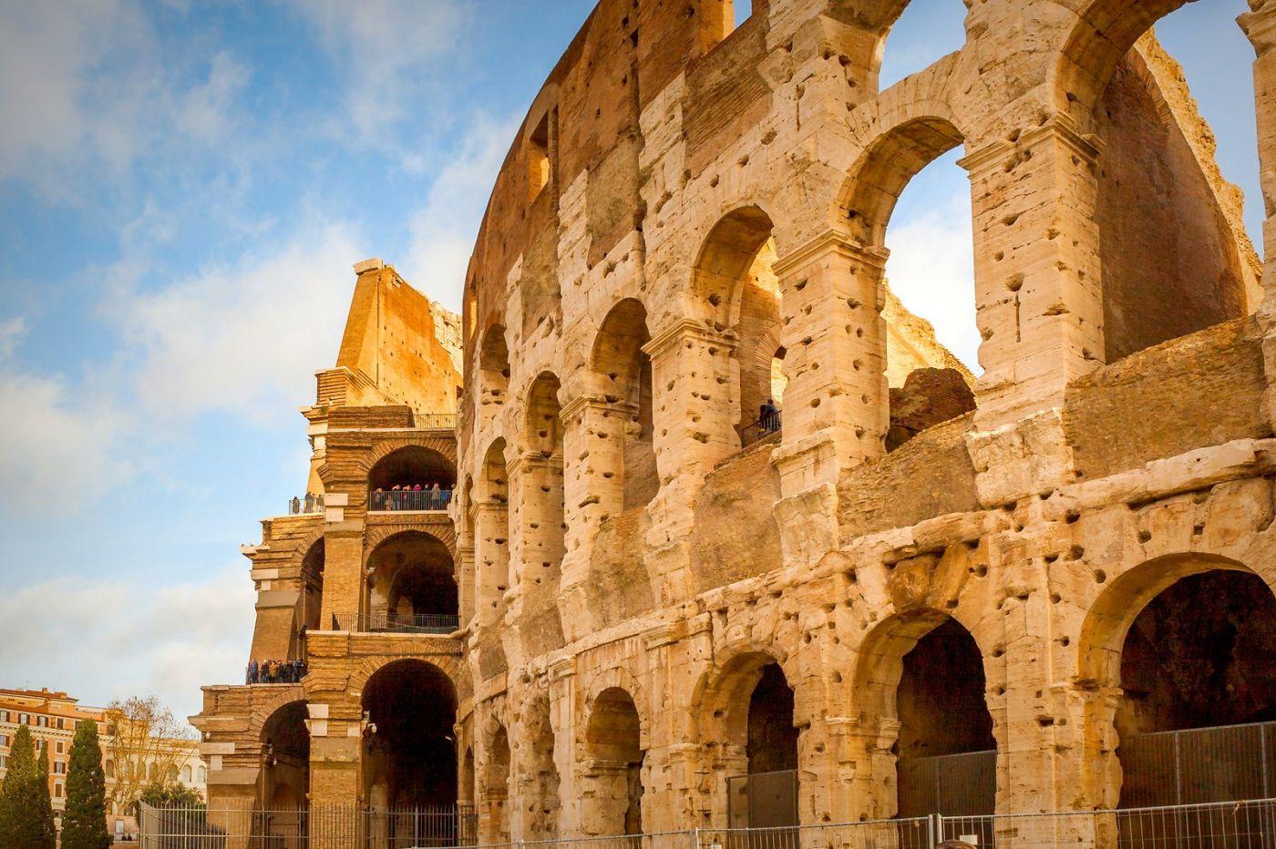 罗马斗兽场(Colosseum), 两千年的宏大建筑古迹_图1-29