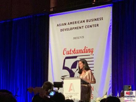"""高娓娓:第18届""""亚裔50杰出企业家""""颁奖晚宴在纽约隆重举行 ..._图1-2"""
