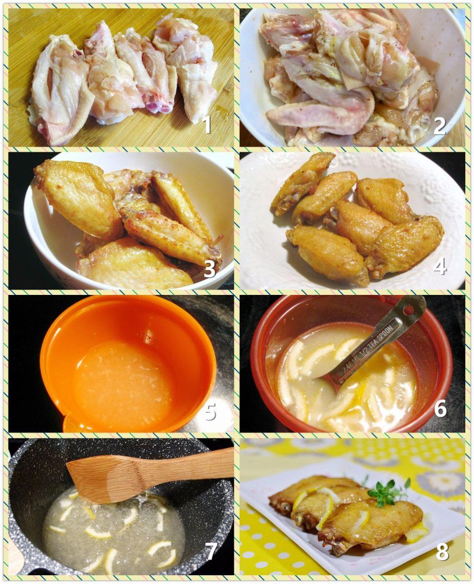 甜酸柠汁鸡翅_图1-2