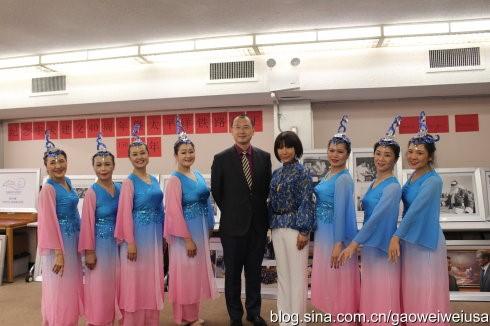 """高娓娓:纽约东北同乡会""""中国文化日""""在杰克逊图书馆开幕 ... ... ..._图1-2"""