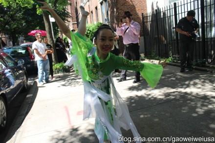 """高娓娓:纽约东北同乡会""""中国文化日""""在杰克逊图书馆开幕 ... ... ..._图1-4"""