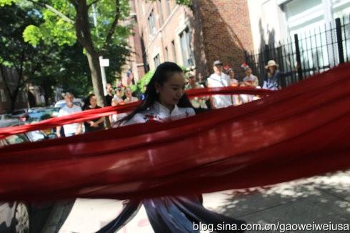 """高娓娓:纽约东北同乡会""""中国文化日""""在杰克逊图书馆开幕 ... ... ..._图1-5"""