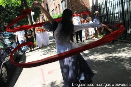"""高娓娓:纽约东北同乡会""""中国文化日""""在杰克逊图书馆开幕 ... ... ..._图1-6"""