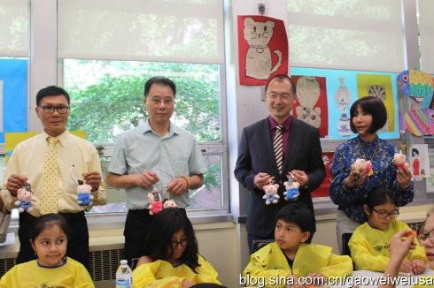 """高娓娓:纽约东北同乡会""""中国文化日""""在杰克逊图书馆开幕 ... ... ..._图1-7"""