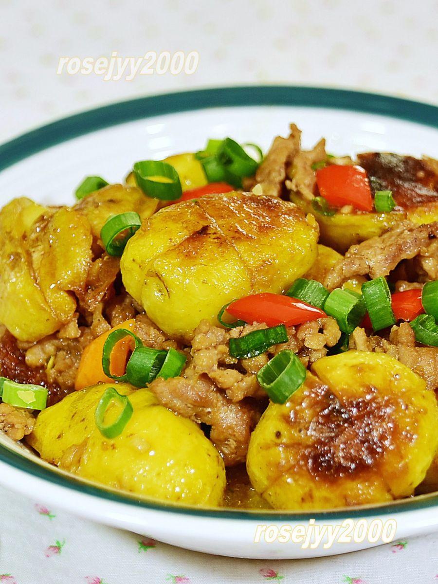 肉末小土豆_图1-3