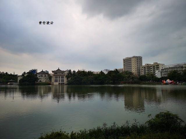 【青竹凌云】水软光漪(原创诗歌摄影)_图1-3