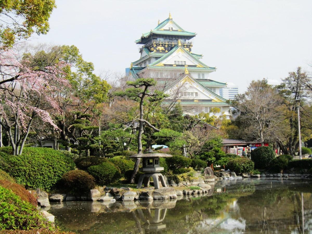 大阪城日与夜_图1-1