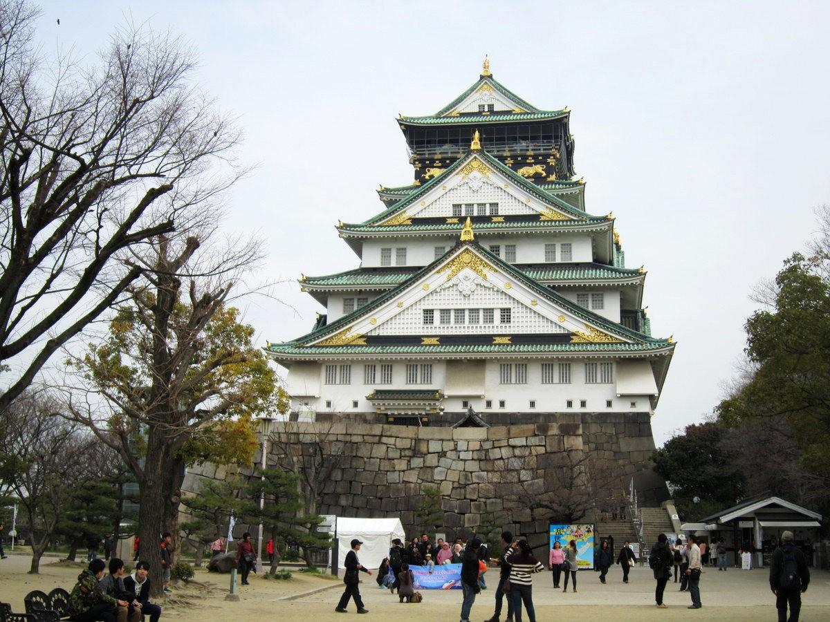 大阪城日与夜_图1-2