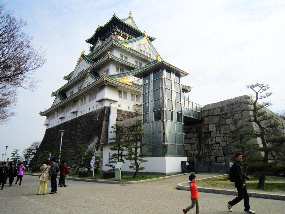 大阪城日与夜_图1-5