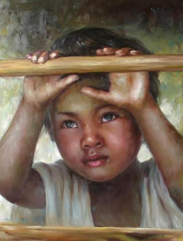法国画家凯拉.马龙访问中国时的一些作品_图1-5