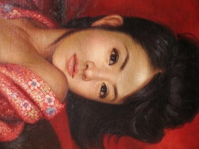 法国画家凯拉.马龙访问中国时的一些作品_图1-6