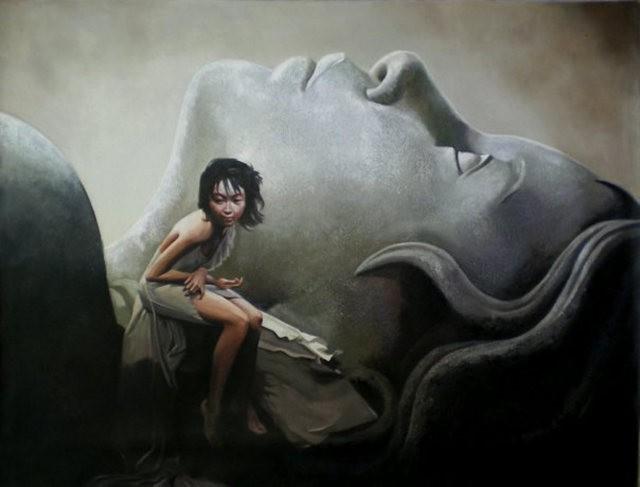 法国画家凯拉.马龙访问中国时的一些作品_图1-14