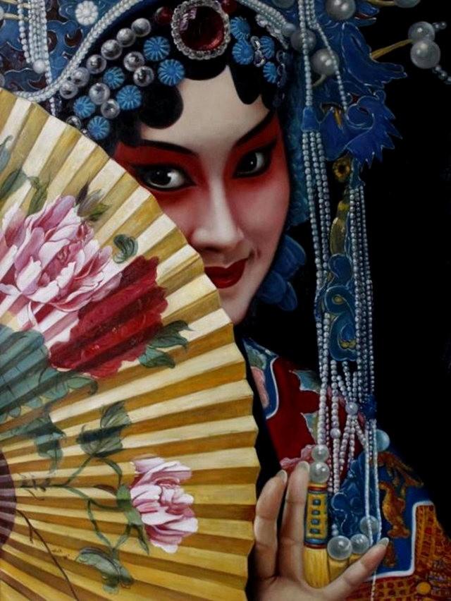 法国画家凯拉.马龙访问中国时的一些作品_图1-18
