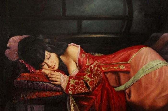 法国画家凯拉.马龙访问中国时的一些作品_图1-19