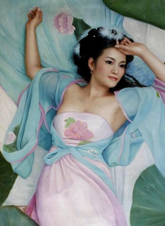 法国画家凯拉.马龙访问中国时的一些作品_图1-21