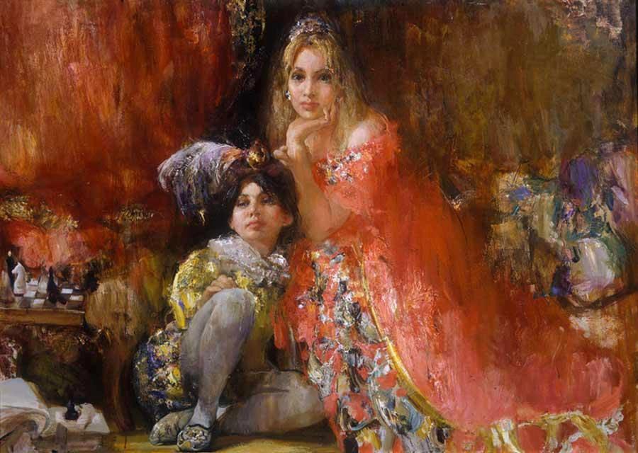 俄罗斯画家尼古拉.布洛欣_图1-1